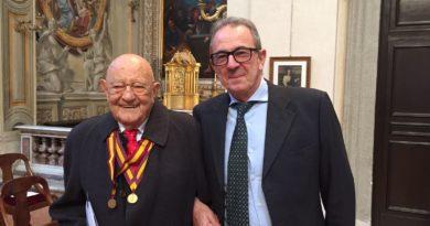medaglia d'oro al Prof. Alberto Fidanza